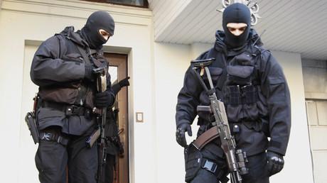 Employés du Service de sécurité d'Ukraine