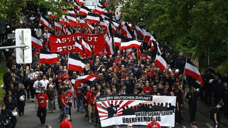 Manifestation d'extrême droite à Dortmund