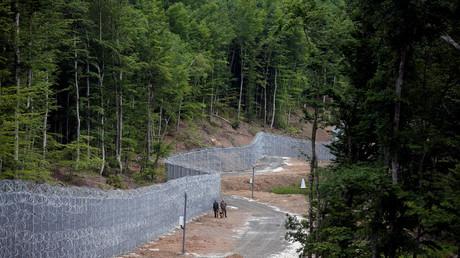 La frontière entre la Bulgarie et la Turquie