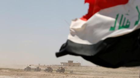 Les forces irakiennes près de Falloujah