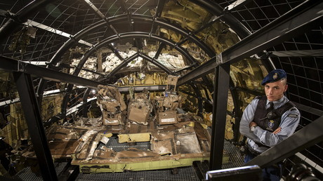 La cabine de pilotage du MH17