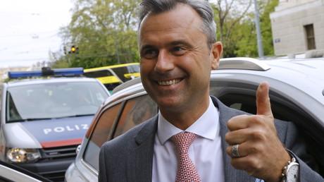 Le candidat du FPO Norbert Hofer
