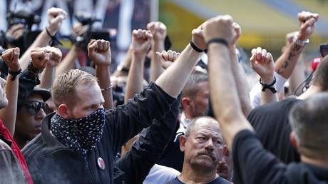 Des militants de l'extrême-gauche française