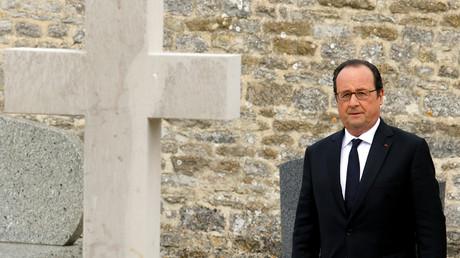 François Hollande, en pleine campagne électorale.