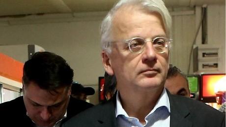 L'ancien représentant de l'Union européenne en Turquie, Hansjoerg Haber