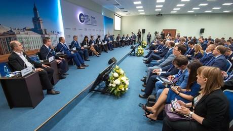 Le Forum économique international de Saint-Pétersbourg