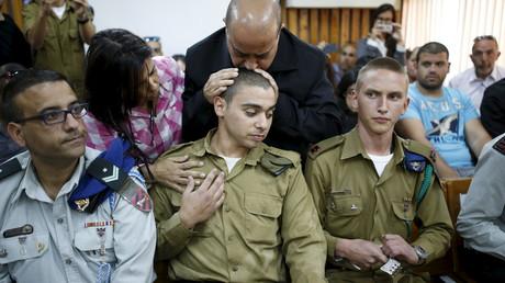 Le franco-israélien lors de son procès