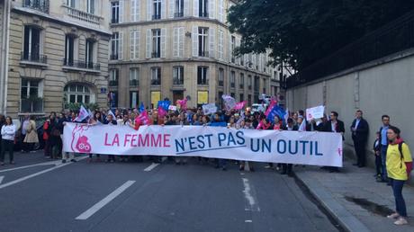 La Manif pour Tous défile à Paris pour protester contre la GPA (IMAGES)