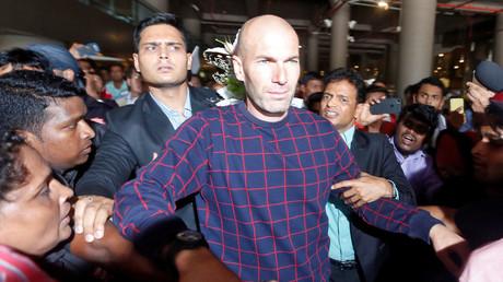 La star du ballon rond a été accueillie par une foule en liesse lors de sa visite à Bombay