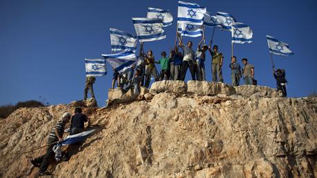 Des colons israéliens revendiquent des territoires en Palestine