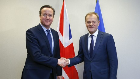 Donald Tusk et David Cameron