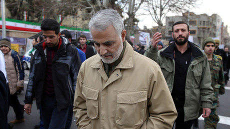 Le général Qassem Soleimani, un des hauts responsables de l'armée d'élite d'Iran
