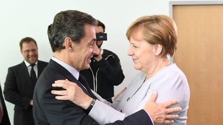 Nicolas Sarkozy et Angela Merkel ont déjeuné ensemble mardi 21 juin.