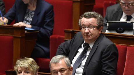 Le chef de file des députés «frondeurs» du Parti socialiste, Christian Paul
