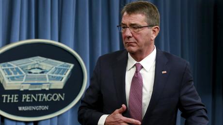 Le Secrétaire américain de la Défense Ashton Carter.