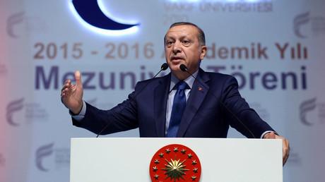 Erdogan : l'UE ne veut pas de la Turquie parce que «la majorité de sa population est musulmane»