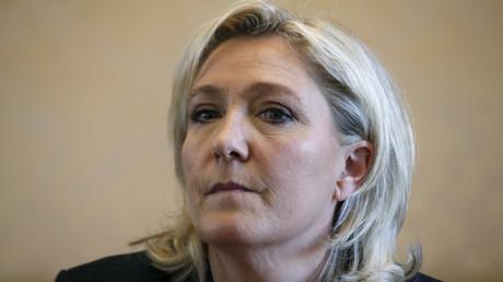 Conférence de presse de Marine Le Pen au sujet du Brexit