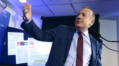 Pierre Gattaz, président du Medef, a décidé de dégainer l'arme juridique face à des militants CGT