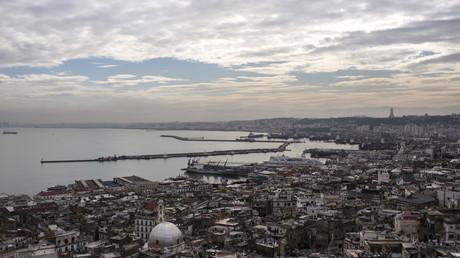 La ville d'Alger, en Algérie.
