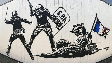 Grenoble : une fresque de street-art jugée anti-police fait polémique (PHOTOS)