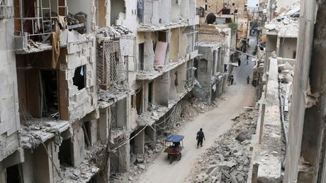 Les ruines d'une ville syrienne