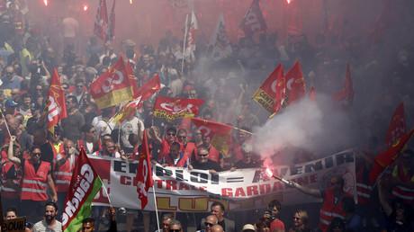 Manifestation contre la loi travail à Marseille le 14 juin dernier