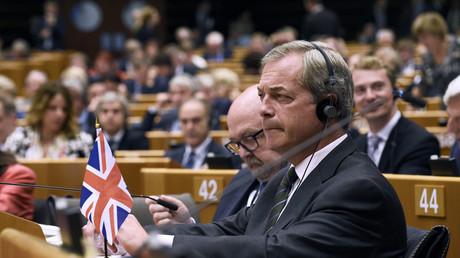 L'eurodéputé Nigel Farage.