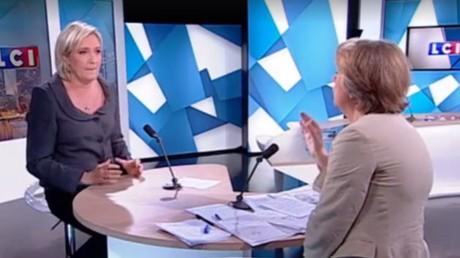 Marine Le Pen appelle à l'annulation «immédiate» des accords de Schengen