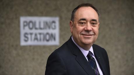 L'ancien Premier ministre écossais Alex Salmond.