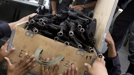 Le problème permanent des Etats-Unis: ils ne peuvent pas contrôler leurs armes au Moyen-Orient