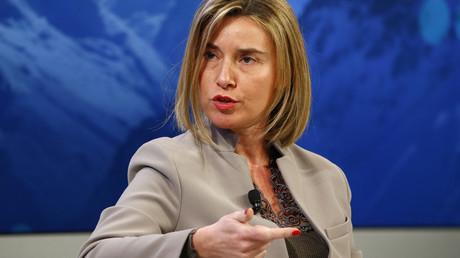 Federica Mogherini, Haute représentante de la politique étrangère de l'Union européenne