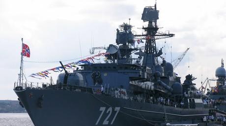 Le navire russe Iaroslav Moudry