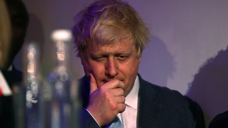 L'ancien maire de Londres Boris Johnson
