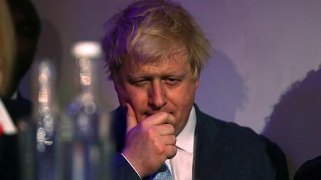 L'ancien maire de Londres Boris Johnson