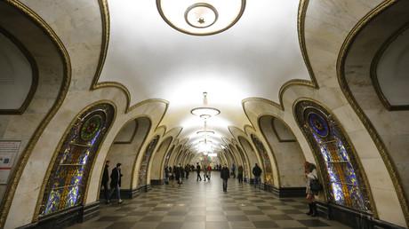 Un selfie en toute sécurité dans le métro de Moscou ? Il y a maintenant des endroits prévus pour ça