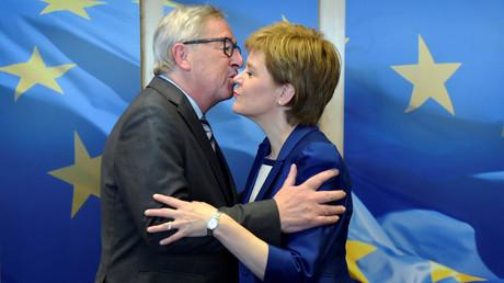 Jean-Claude Juncker et Nicolas Sturgeon