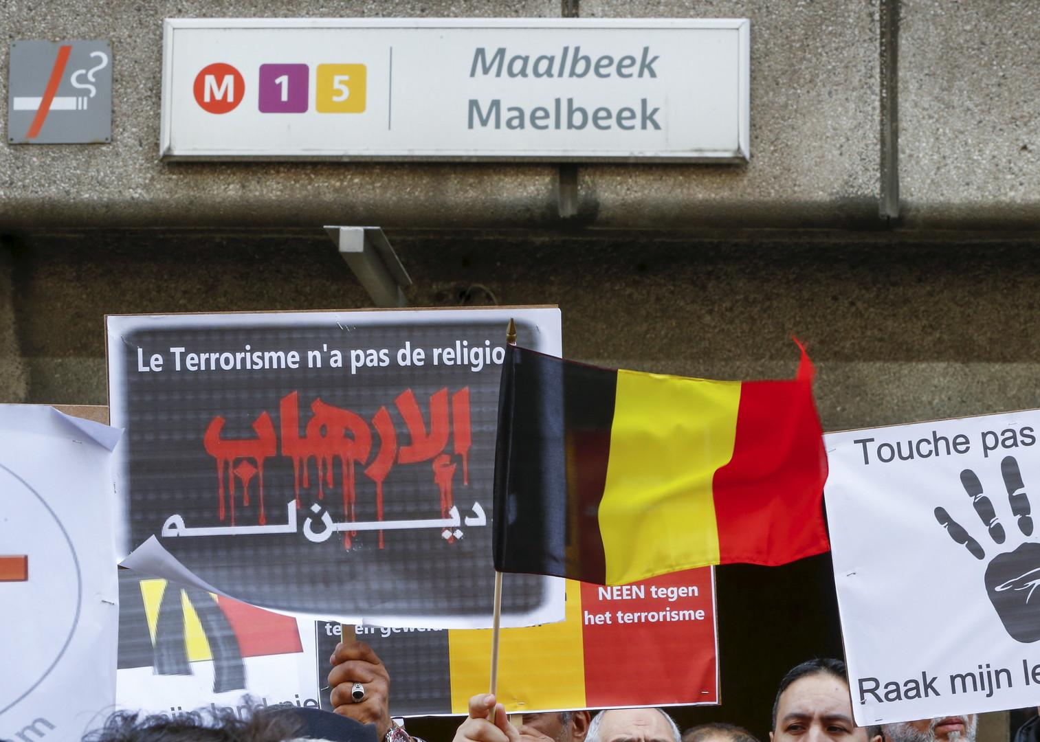 La station de métro de Maelbeek à Bruxelles a été le théâtre de l'explosion d'un kamikaze le 22 mars 2016