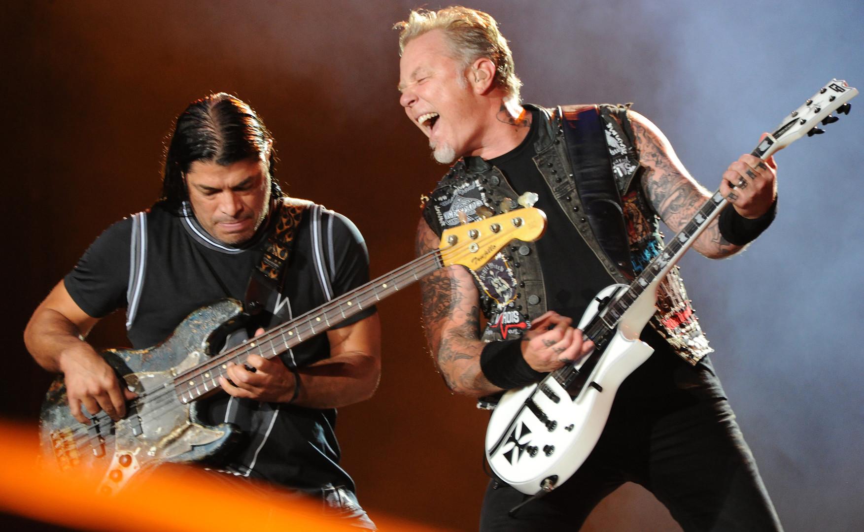Deux des membres de Metallica.