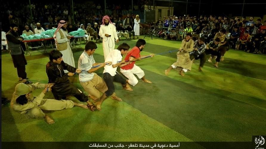 A un mois des JO du Brésil, Daesh organise ses propres jeux (IMAGES)