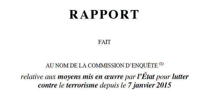 Rapport de la commission parlementaire, tome II : comptes rendus des auditions