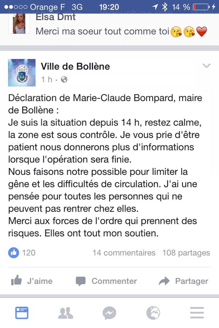 Vaucluse : le forcené de l'hôtel Formule 1 de Bollène a été arrêté