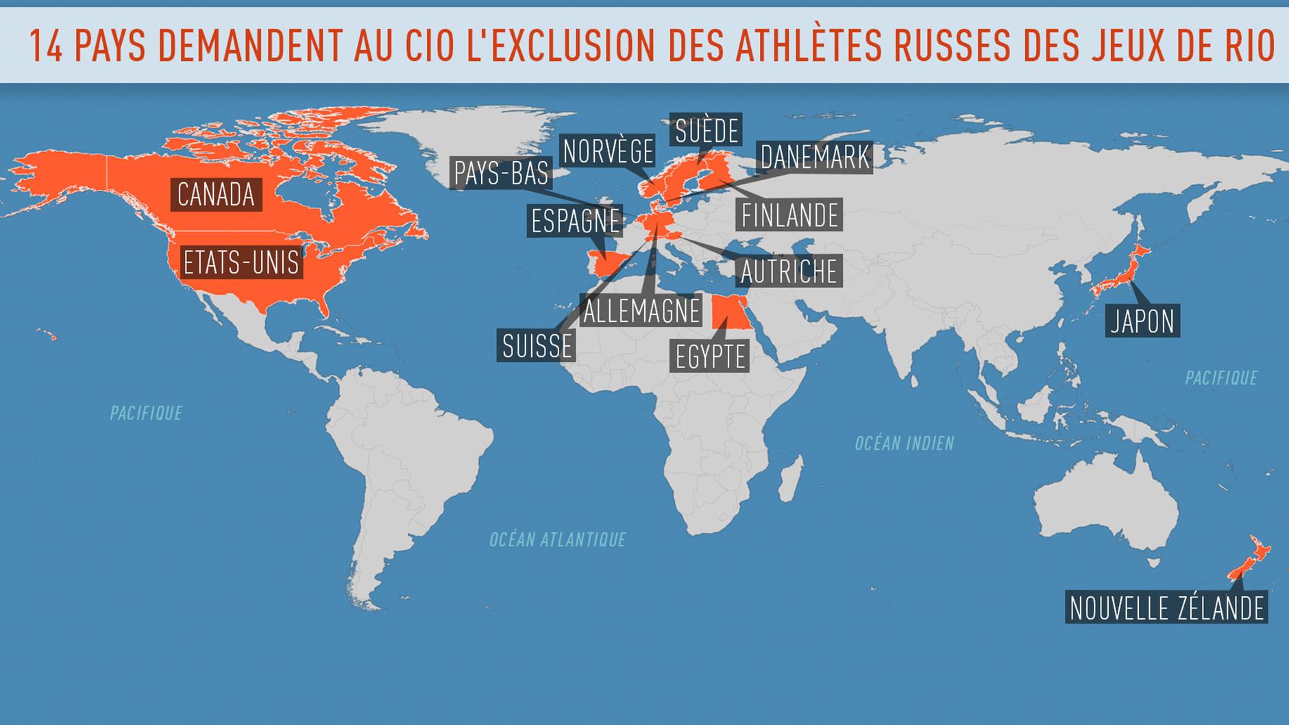 Athlètes russes privés des JO de Rio : la décision du TAS est «l'enterrement de l'athlétisme»
