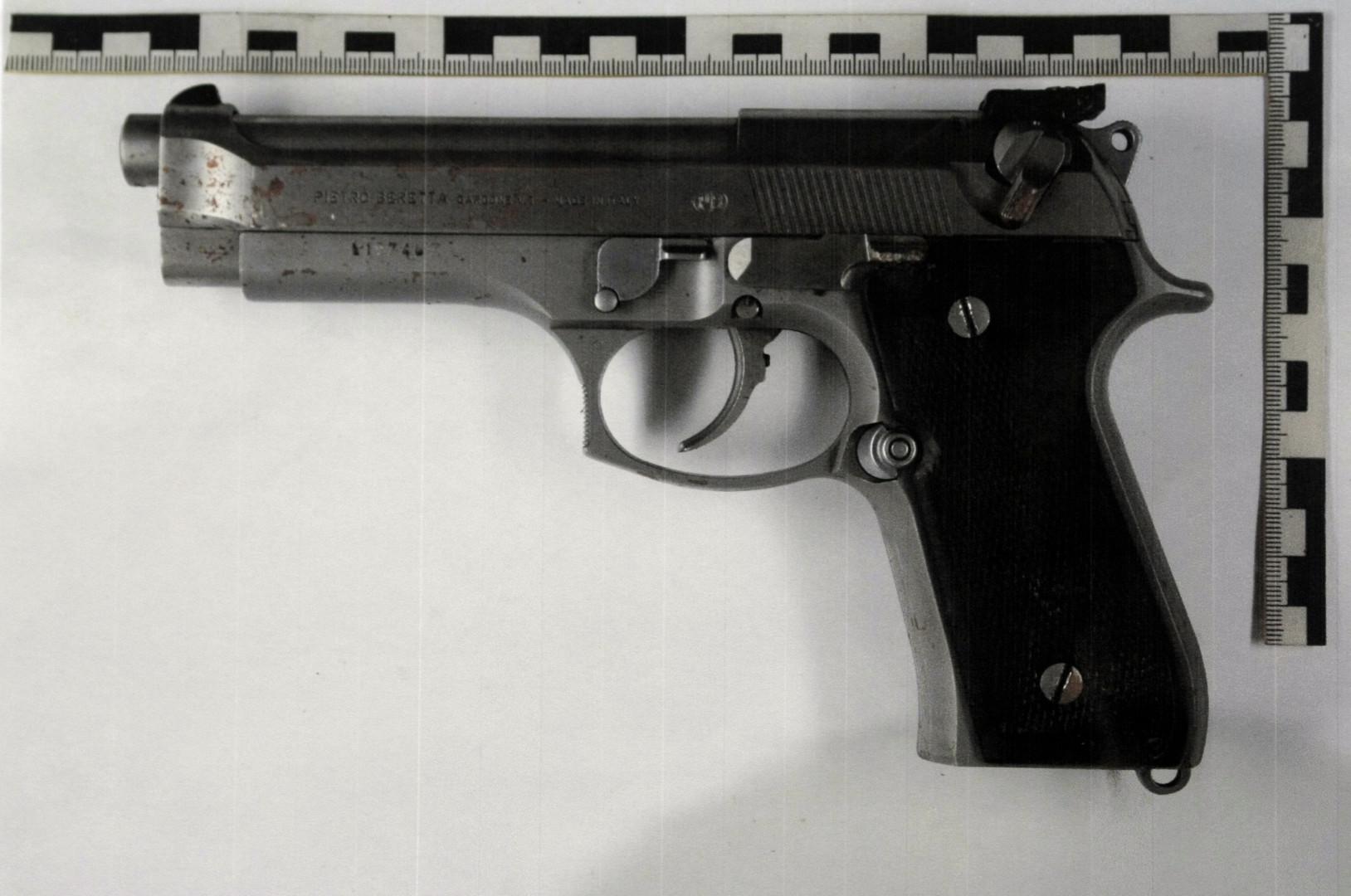 Photo de l'arme utilisée par Tim Kretschmer