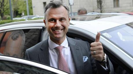 Le candidat du FPÖ Norbert Hofer