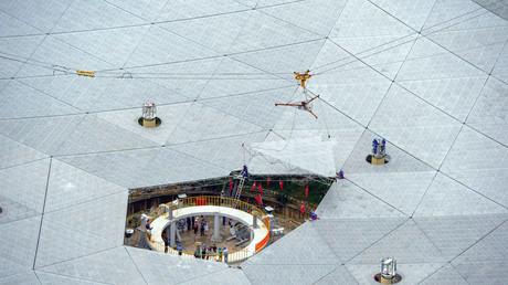 La Chine entend «mettre sur écoute» les extraterrestres à l'aide d'un radiotélescope géant