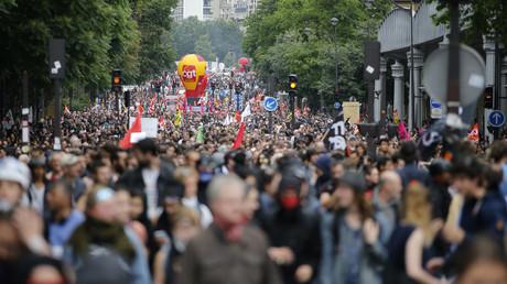Les opposants à la loi travail de nouveau mobilisés à Paris