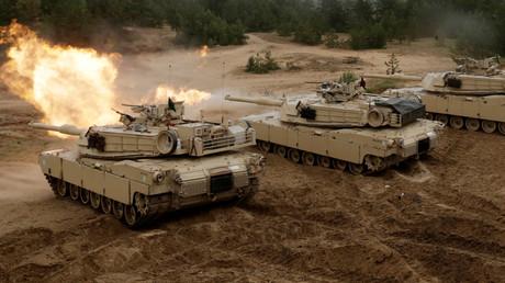 Exercices militaires de l'OTAN en Lettonie, juin 2016