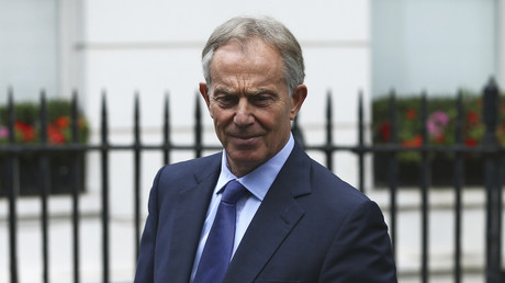 Tony Blair, ancien Premier ministre britannique (1997 – 2007)