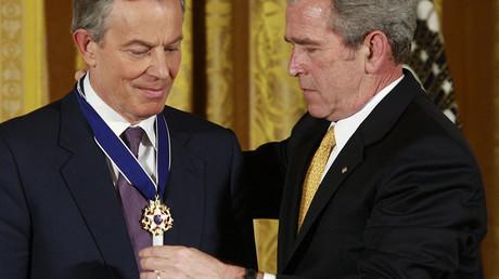 Tony Blair à George W. Bush : «Je serai avec toi quoi qu'il arrive»