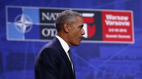 Le président américain Barack Obama au sommet de l'OTAN à Varsovie